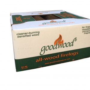 Goodwood All-Wood Firelogs – CALIFORNIA ONLY